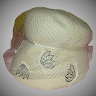 Veiled Intrigue Hat