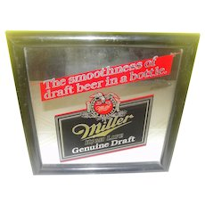 Miller High Life Beer Mirror - Bar Mirror