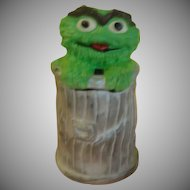 California Original Oscar the Grouch Muppets 972 Cookie Jar