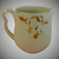 Hall Autumn Leaf Pitcher - b139