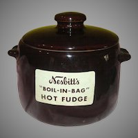 West Bend Nesbitts ''Boil in Bag'' Hot Fudge Pot - G