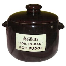West Bend Nesbitts ''Boil in Bag'' Hot Fudge Pot - G
