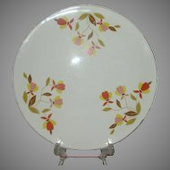 Hall Autumn Leaf  Cake Plate