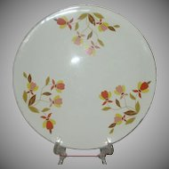 Hall Autumn Leaf  Cake Plate