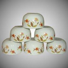 Hall Autumn Leaf Custard Cups