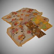 Peachy Keen Trio of Scarfs - Free shipping - b143