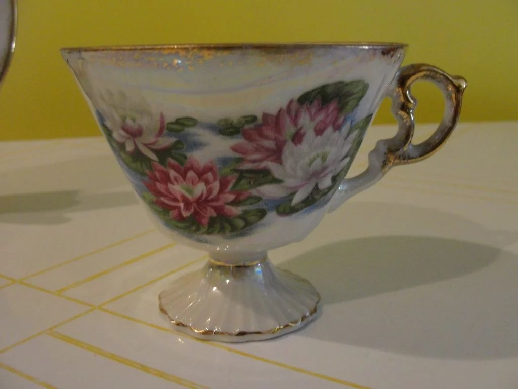 July flower of the month waterlily tea cup and saucer b147 sold july flower of the month waterlily tea cup and saucer b147 click to expand izmirmasajfo