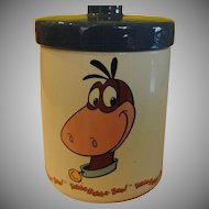Yabba Dabba doo! Flintstone's Dino the Dinasaur Cookie Jar - g