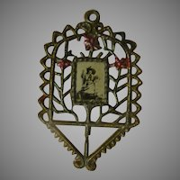 Photo and Flower Frame Pendant - Free shipping