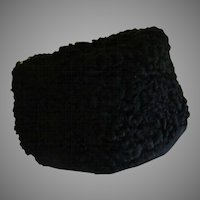 Curly Persian Lamb Hat - hb