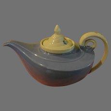 Hall Aladdin Lamp Tea Pot Cadet Blue Morning Glory with diffuser - 58