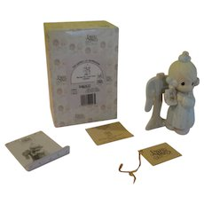 Precious Moments Symbol of Membership 1991 Figure Sharing the Good times Together #C0011 - b162