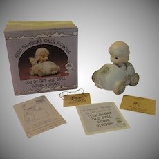 Precious Moments 1990 Member Only Figure ''Ten Years and Still going Strong'' - b162