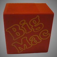 Big Mac Attack McDonald's GE Transistor Radio - b170