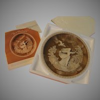 "Incolay Romantic Poets Collection Plate ""To A Skylark'' - b165"