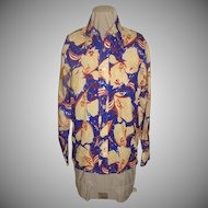 Fantastic Print Leisure Suit Shirt