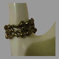 Abstract Design Band Ring size 10 - Free shipping