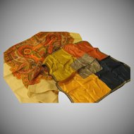 Paisley and Color Blocked Scarfs - Free shipping - b170