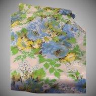 Romantic Impressionist Print Fabric - L3
