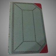 Boorum & Pease Standard Blank Book No. 67 1/8 - b59