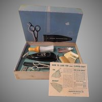 Clipper-craft Model 206 Home Barber Kit in Box - b61