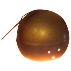 Golden Eye-ball Mid-century Swag Light - g