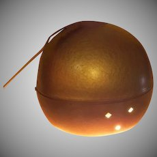 Golden Eye-ball Mid-century Swag Light - g
