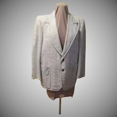 Top Stitched Dapper Gent Jacket