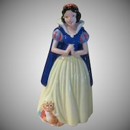 Treasure Craft Disney Snow White Cookie Jar - g