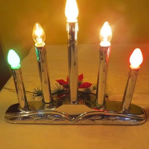 Electric Christmas Candle