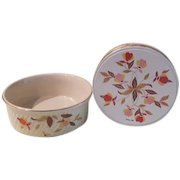 Hall China Autumn Leaf French Baker and Cookie Tin - b181