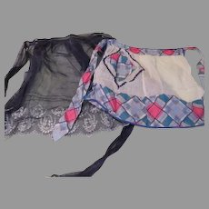 Everyday and Party Blue Aprons - b180