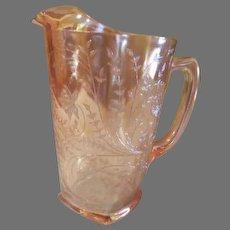 Glorious Gold Floragold Louisa 64 oz Pitcher - b181