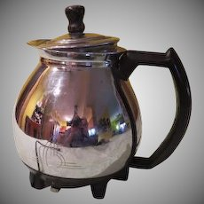 Sunbeam Electric Mid-century Chrome Tea Pot - b188