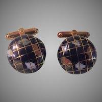 World at Your Fingertips  Cuff Links - Free shipping