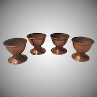 Copper Cordial Goblets - b190