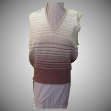 V-neck Made In Scotland Sweater Vest