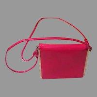 Seeing Double Strap Red Handbag - b191