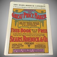 Replica 1908 Sears Roebuck Catalog - b188