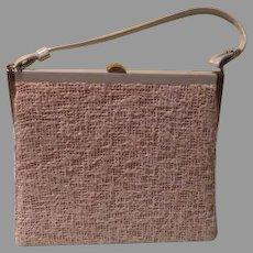 Woven Hubby Texture Handbag/purse - b191