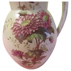 Wiltshaw & Robinson Trent on Stoke Chrysanthemum Chinoiserie Hot Water Pitcher - b193
