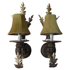 Acanthus Leaf Wall Sconces - b194