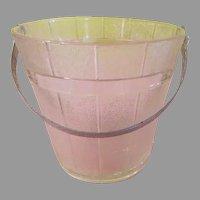 Indiana Glass Old Oak Ice Bucket