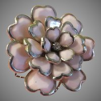 Pink-alicious Multi-petal Ring size 8 1/2 - Free shipping