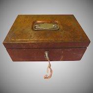 Coins in the Till Utilco Cash Box - b198