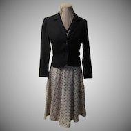 Perfect Polka Dot Shirtwaist Dress and Jacket