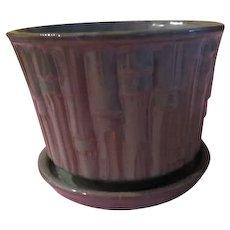 Extra Large McCoy Bamboo flower Pot - b205
