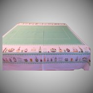 Oil and Vinegar Tablecloth - b202