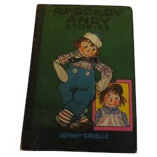 Raggedy Andy Stories By Johnny Gruelle Bobs Merrill 1960 - b203C