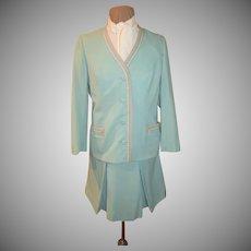 Spring time Robin Egg Blue #3-piece Suit